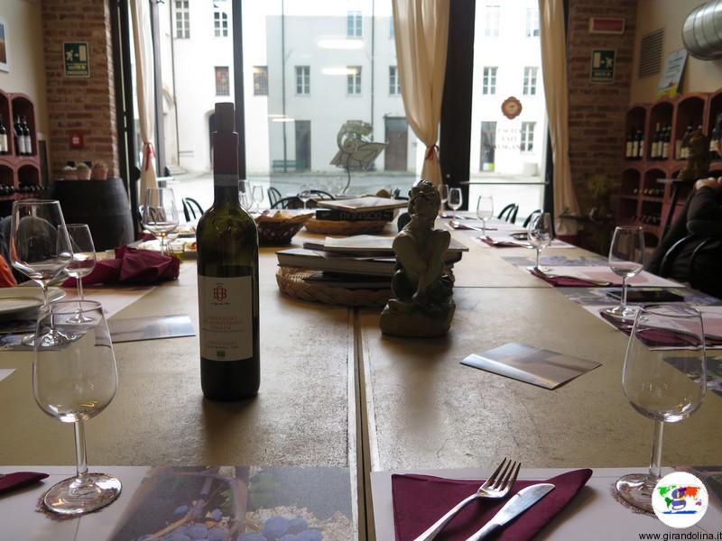 Monferrato dove mangiare , l'Enoteca Regionale del Monferrato