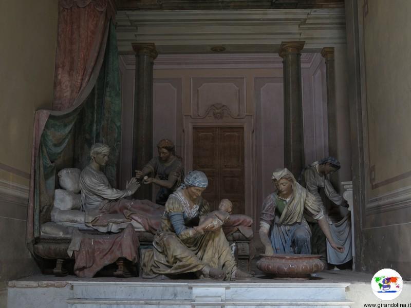 Sacro Monte di Crea , la Cappella Natività di Maria