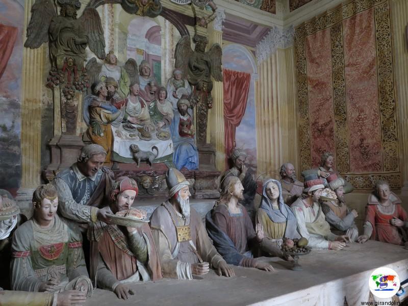 Sacro Monte di Crea , la Cappella Nozze di Cana