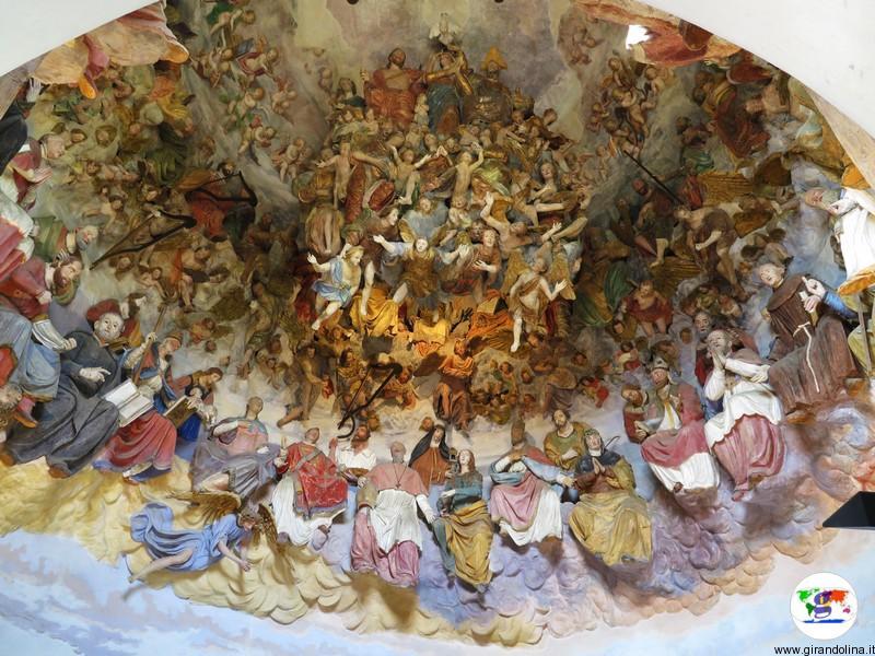 Sacro Monte di Crea , la Cappella il Paradiso
