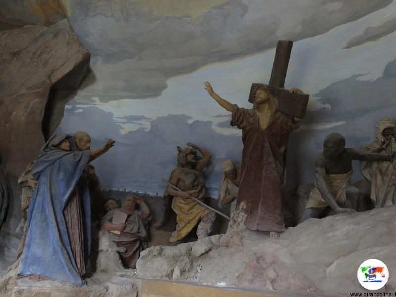 Sacro Monte di Crea , la Cappella Salita di Gesù al calvario