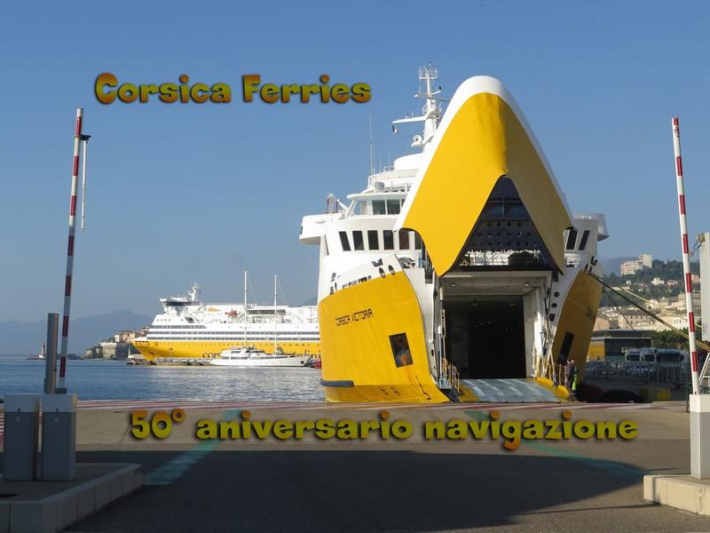 Video 50 °anniversario di navigazione della Corsica Ferries