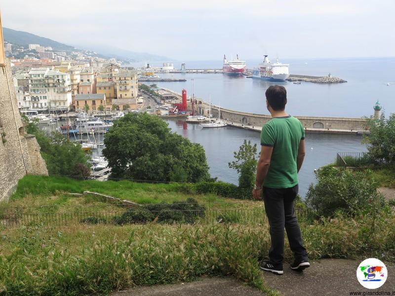 Bastia e la veduta del Vieux Port