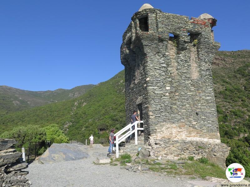 Cap Corse, la torre di Nonza