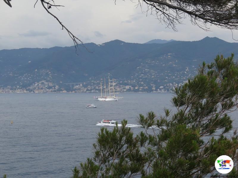 Portofino e la veduta dal Faro
