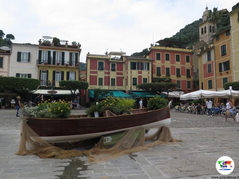 Portofino e la sua celebre Piazzetta