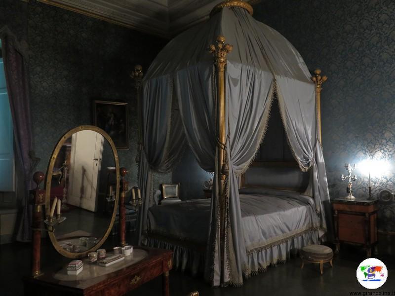 Villa La Petraia, la camera di Rosina