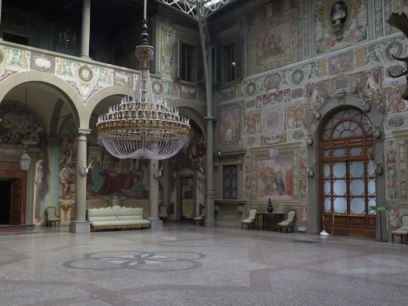 Le Ville Medicee in Toscana - Villa Medicea la Petraia, cortile interno
