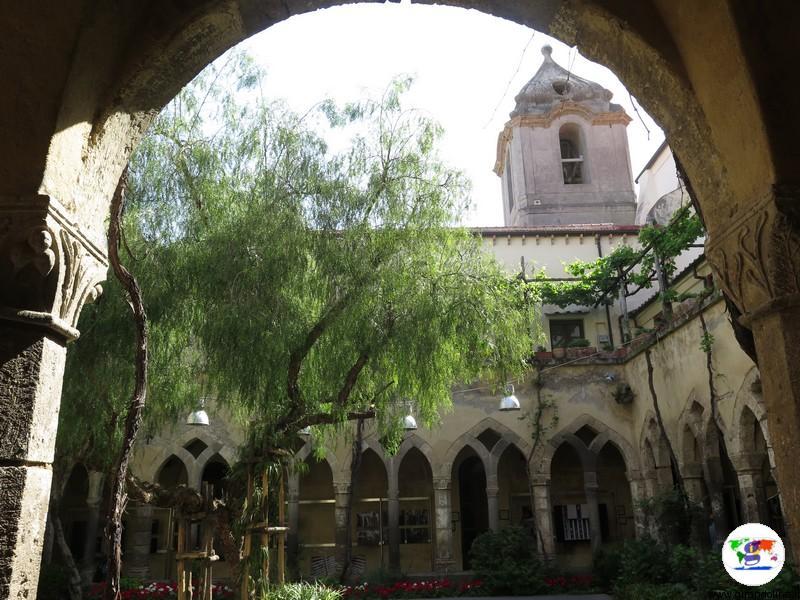 Sorrento Chiostro della Chiesa di San Francesco