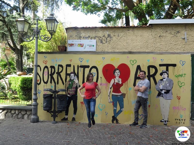 Sorrento street art
