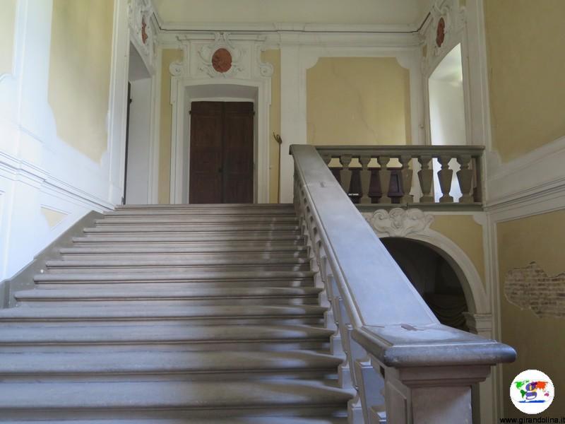 Villa la Magia, lo scalone monumentale