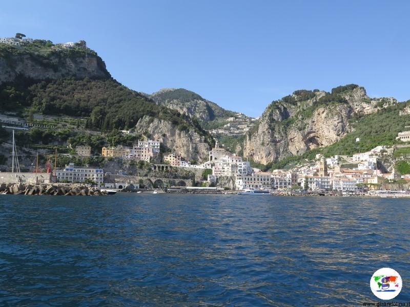 Amalfi- panorama dal traghetto