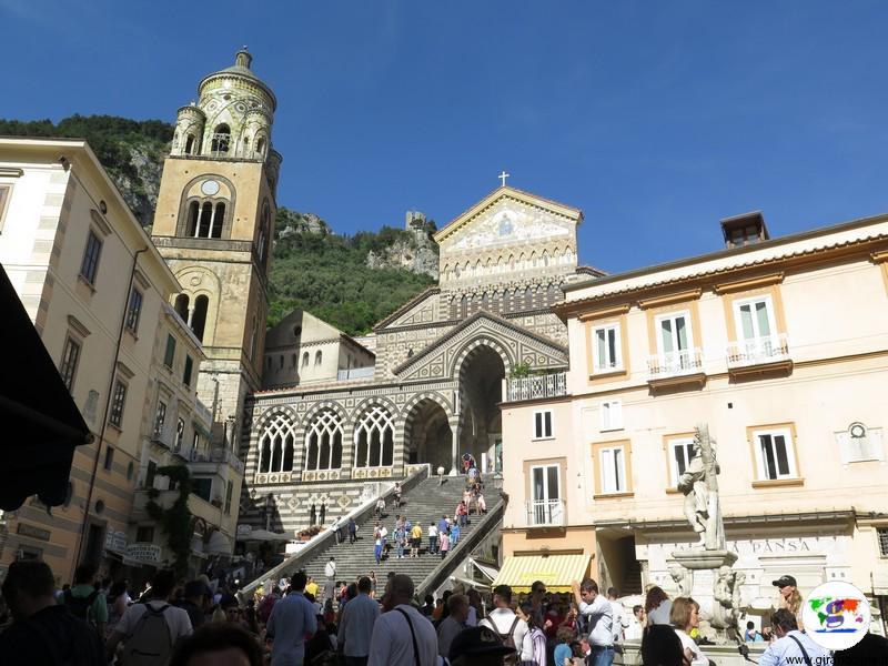 Amalfi- piazza principale