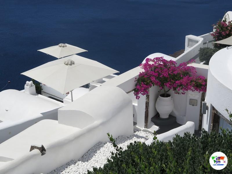 Santorini una settimana - panorama di Fira