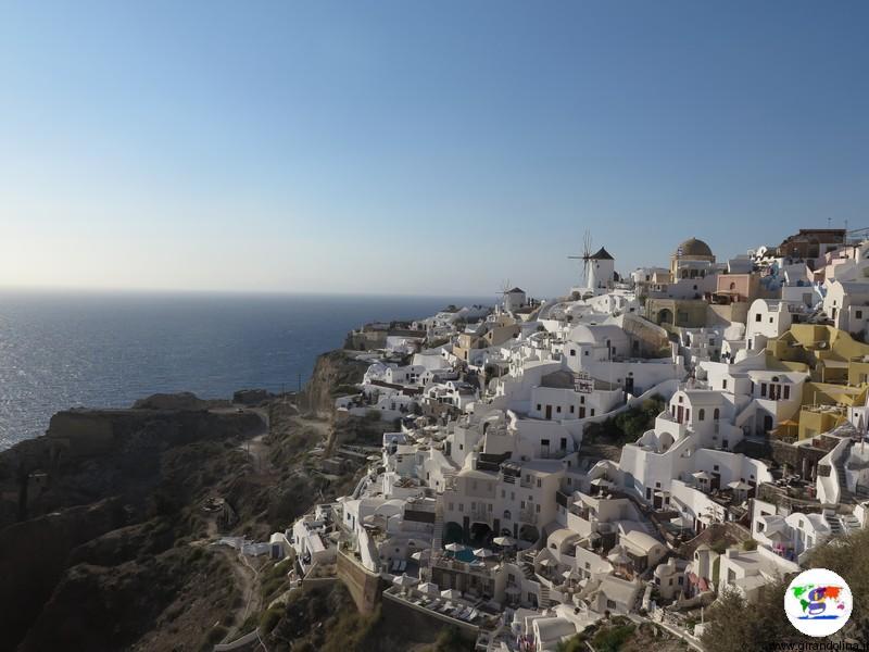 Santorini una settimana - panorama di Oia
