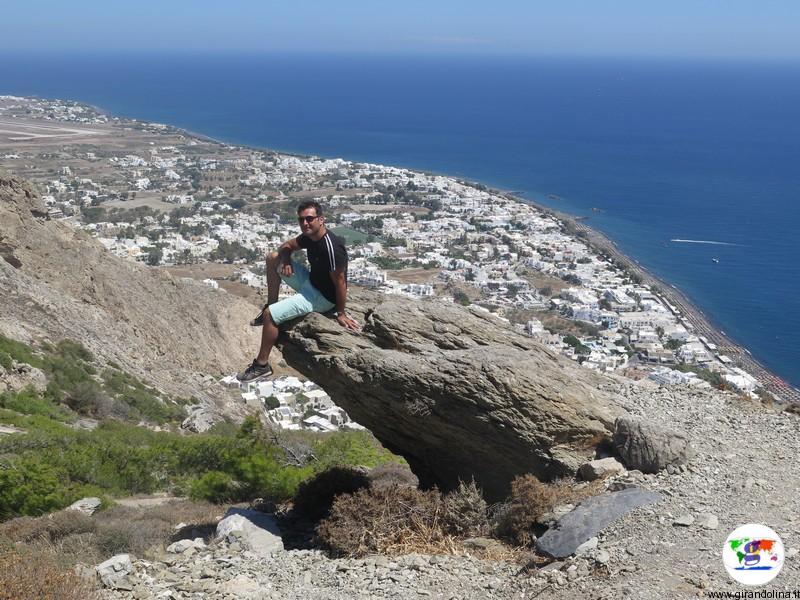 Santorini cosa vedere - Antica Thera panorama