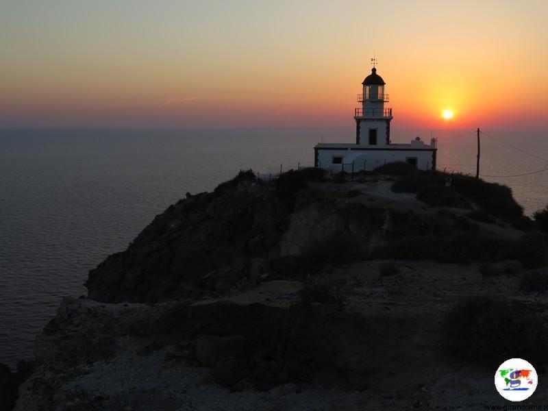 Santorini cosa vedere - Faro di Akrotiri
