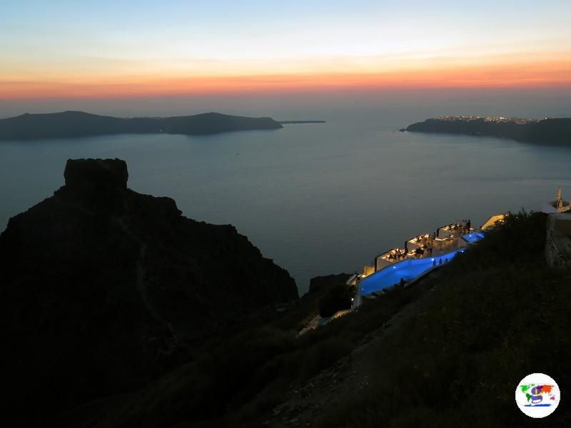 Santorini cosa vedere - Rocca di Skaros