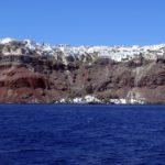 Santorini - Thira vista dal vulcano