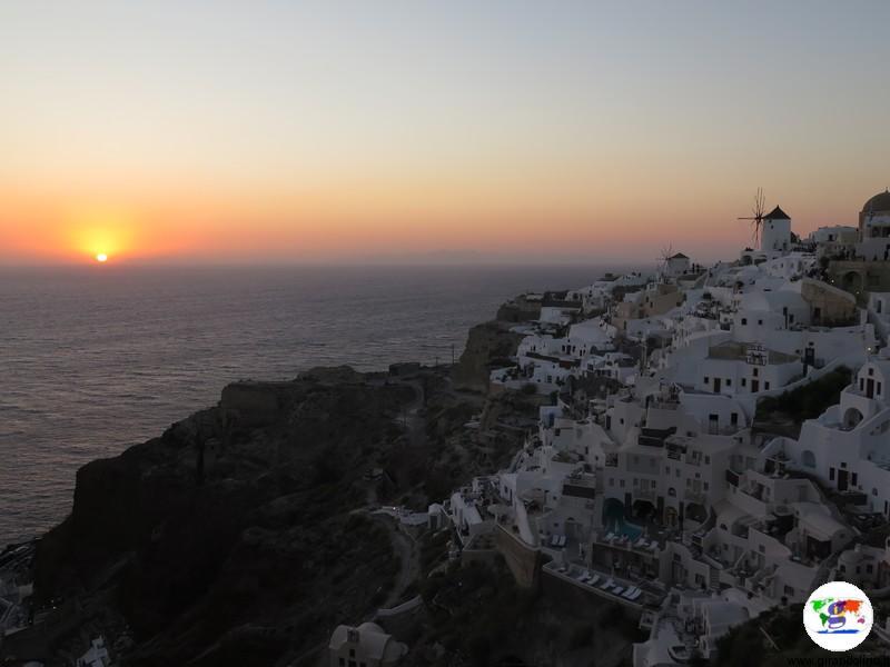 I tramonti più belli d'Europa - Santorini Oia