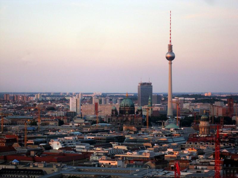 I tramonti più belli d'Europa - Berlino Panorama Punkt
