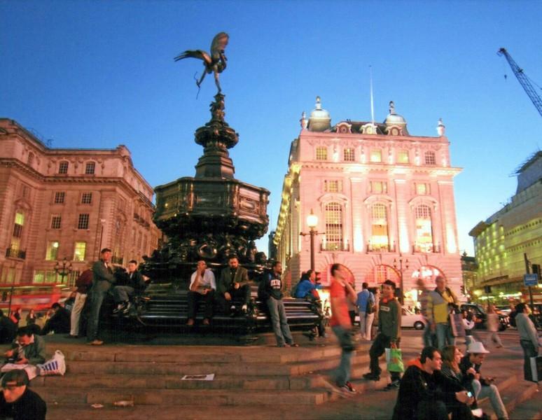 I tramonti più belli d'Europa - Londra Piccadilly Circus