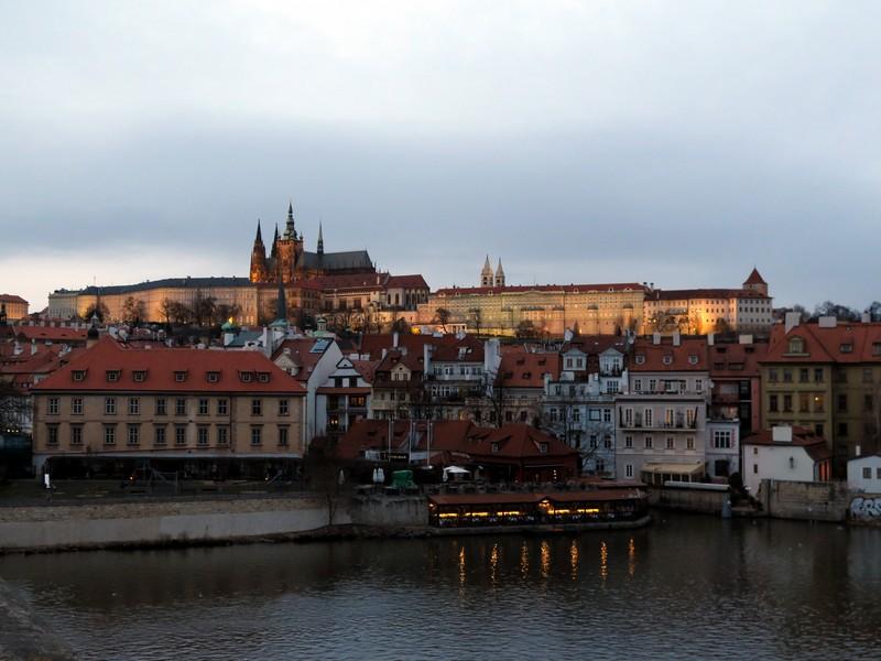 I tramonti più belli d'Europa - Praga il Castello