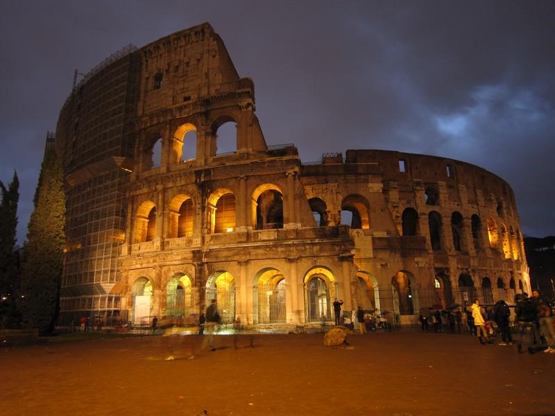 I tramonti più belli d'Europa - Roma il Colosseo