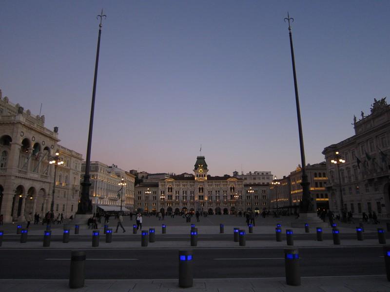I tramonti più belli d'Europa - Trieste Piazza dell'Unità d'Italia