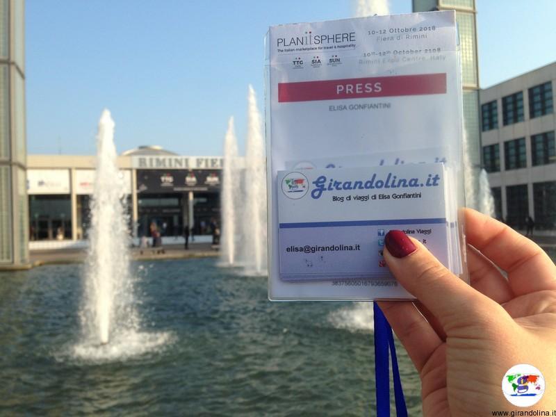 Appena arrivata al TTG Travel Experience 2018 Rimini