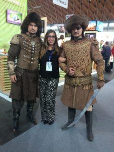TTG Travel Experience 2018 Rimini stand del Kazakistan