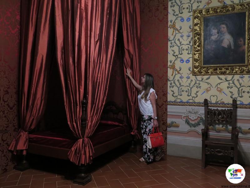 La Villa Medicea di Cerreto Guidi, la camera di Isabella