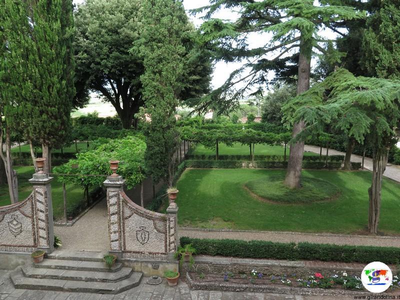 La Villa Medicea di Cerreto Guidi, i giardini