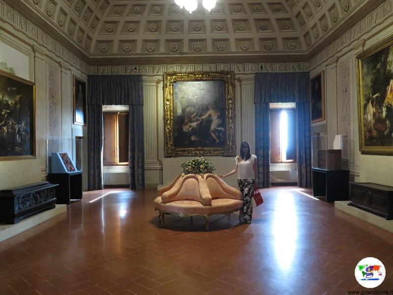 La Villa Medicea di Cerreto Guidi, salone centrale