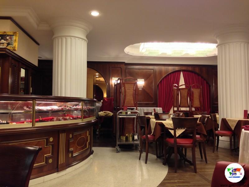Caffè degli Specchi interno - Trieste
