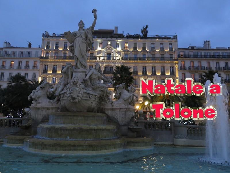 Video delle festività natalizie a Tolone, la città provenzale.