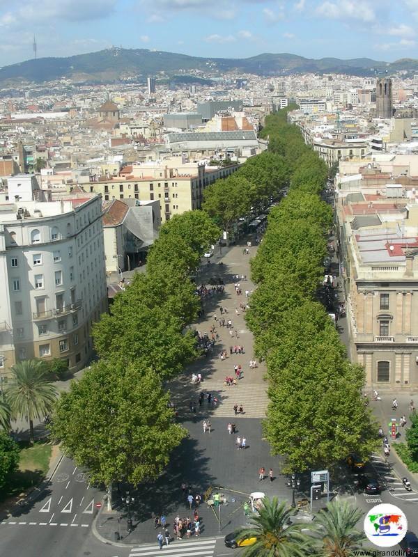 Capodanno a Barcellona, la Ramblas