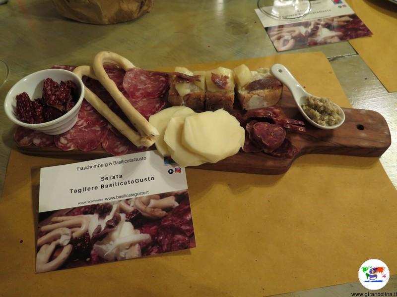 Dove mangiare a Prato, Tagliere BasilicataGusto