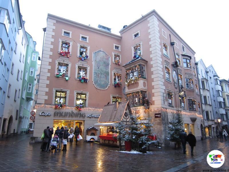 Mercatino di Natale a Innsbruck - le strade del centro