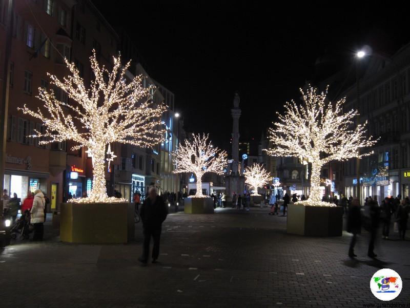Mercatino di Natale a Innsbruck - Maria-Theresien-Straße