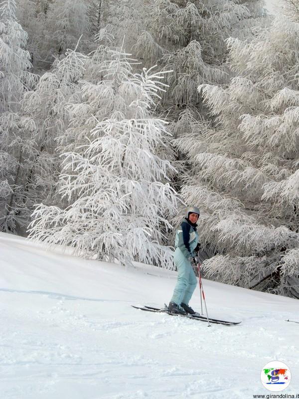 Elisa sulle piste del Monte Cimone