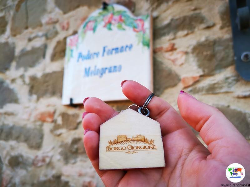 Borgo Giorgione , l'appartamento Melograno