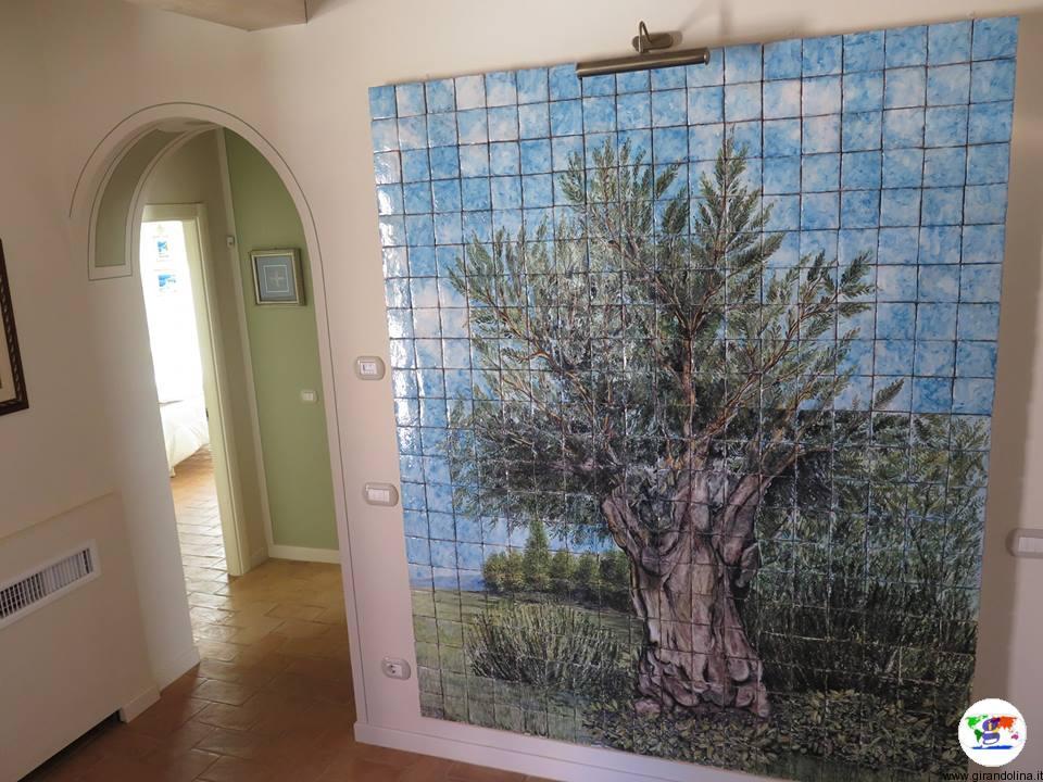 Borgo Giorgione , l'appartamento Olivo