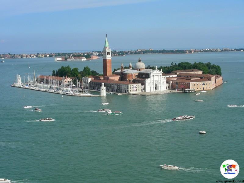 Venezia, l'Isola della Giudecca vista dal Campanile di San Marco