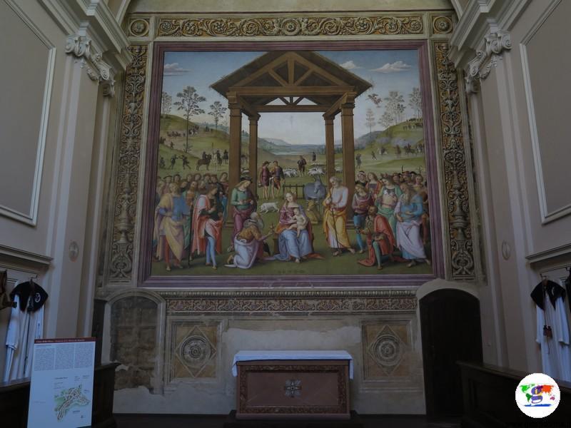 Città della Pieve , l' Adorazione dei Re Magi