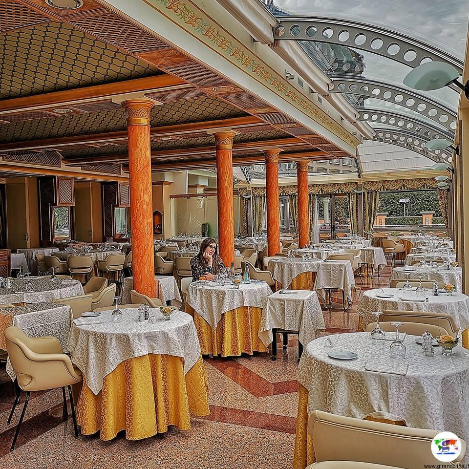 Hotel Astoria , la sala ristorante panoramica