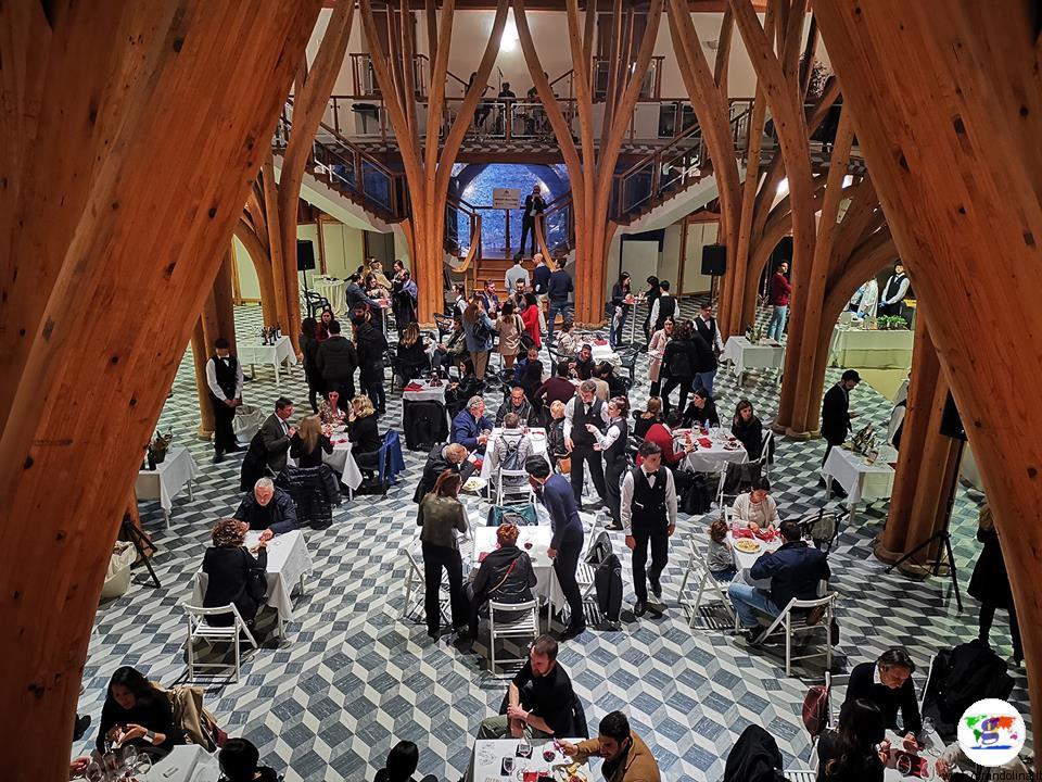 Tasting Montecatini, l'interno del Salone Portoghesi delle Terme Tettuccio Montecatini Terme