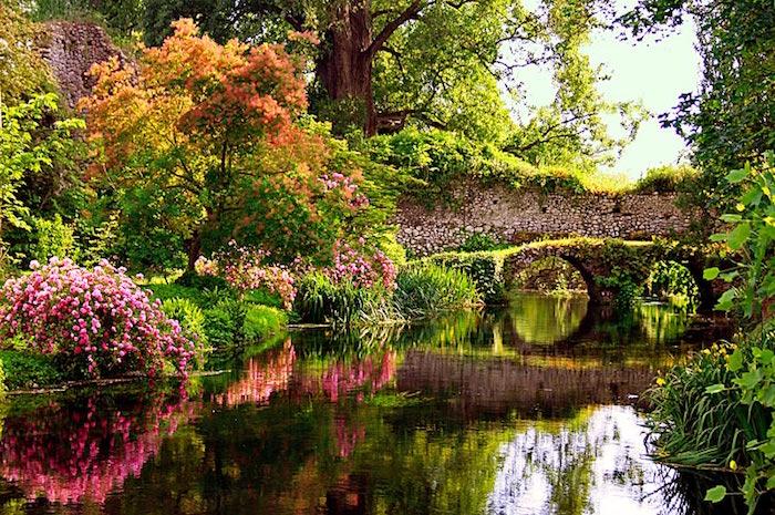 I giardini più belli d'Italia, I Giardini di Ninfa, Cisterna di Latina. ( Photo Credits latinaquotidiano.it)