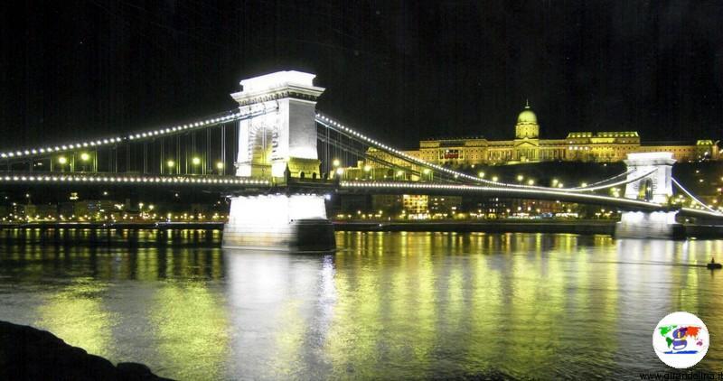 Budapest, il panorama del Castello e del Ponte delle Catene