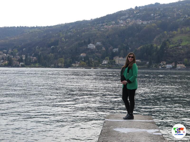 Viaggiare in gravidanza, Elisa col pancione alle Isole Borromee